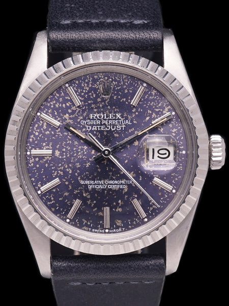 "1982 Rolex Datejust (Ref. 16030) Blue ""Tropical"" Dial"