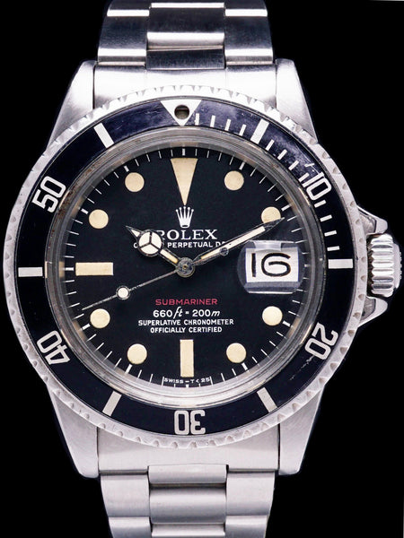 1970 Rolex Red Submariner (Ref. 1680) Mk. V Dial