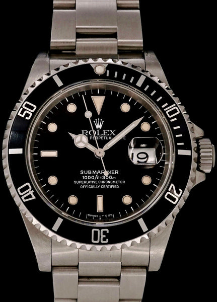 "1991 Rolex Submariner Date (Ref. 16610) ""Unpolished"""
