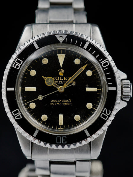 "1963 Rolex Submariner (Ref. 5513) ""GILT Underline Dial w/ PCG"""