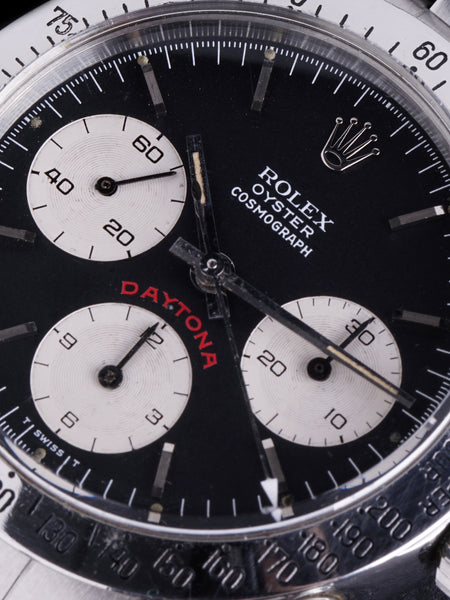 "1978 Rolex Daytona (Ref. 6265) Black ""Big Red"""
