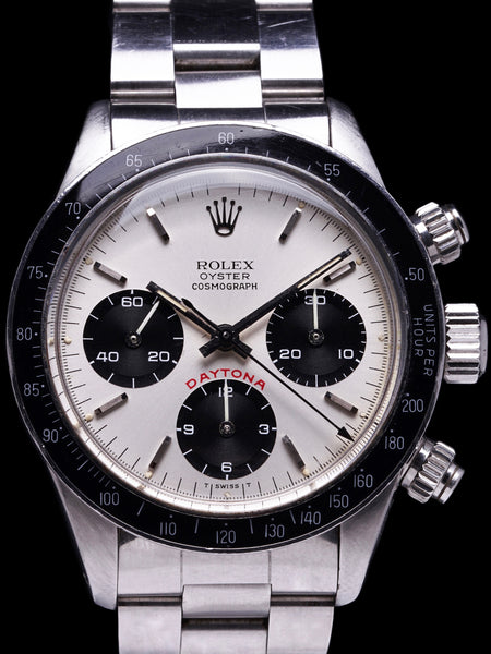 "1983 Rolex Daytona (Ref. 6263) Silver ""Big Red"""