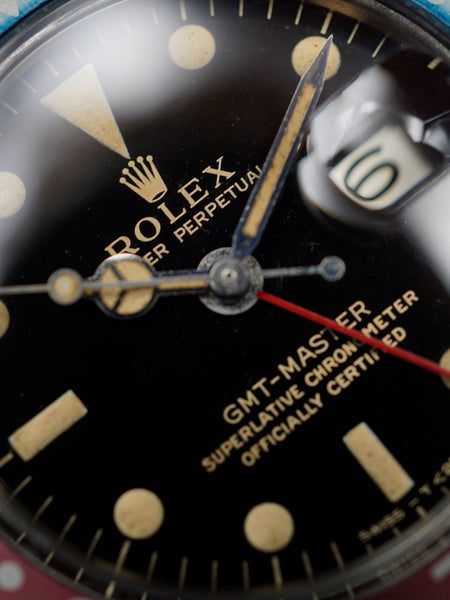 "1968 Rolex GMT-Master (Ref. 1675) Gilt Dial ""Box and Papers"""