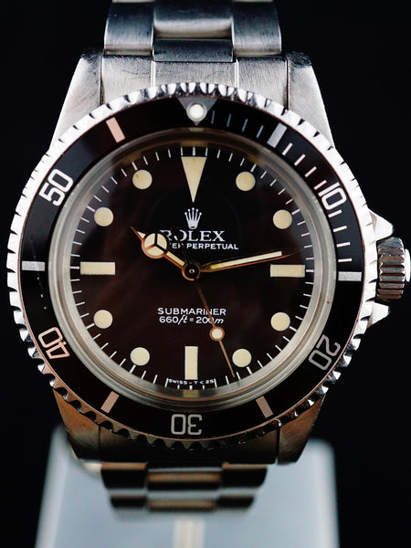 1982 Rolex Submariner Ref. 5513 Mark V Maxi Dial