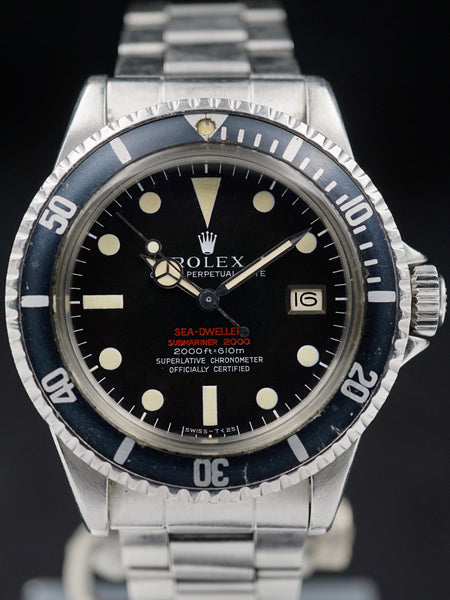 1967 Rolex Double Red Sea-Dweller (Ref. 1665) With Papers