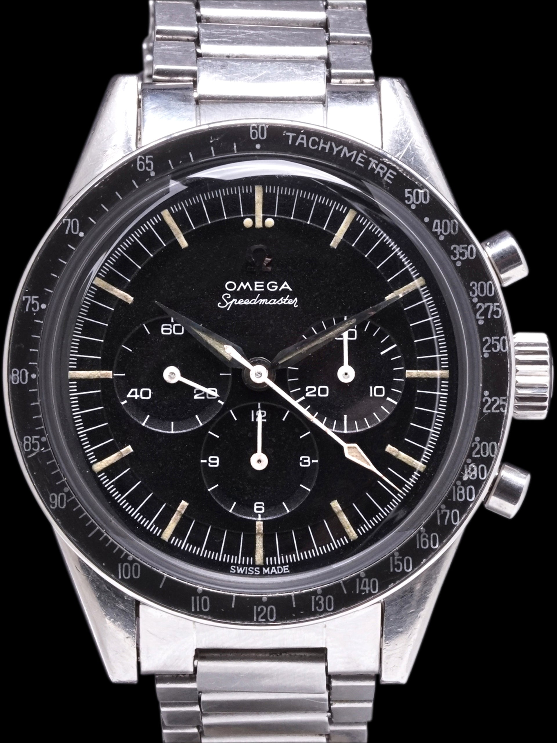 1962 OMEGA Speedmaster (Ref. CK2998-61) Cal. 321 W/ Military Provenance & Letter From The Original Owner