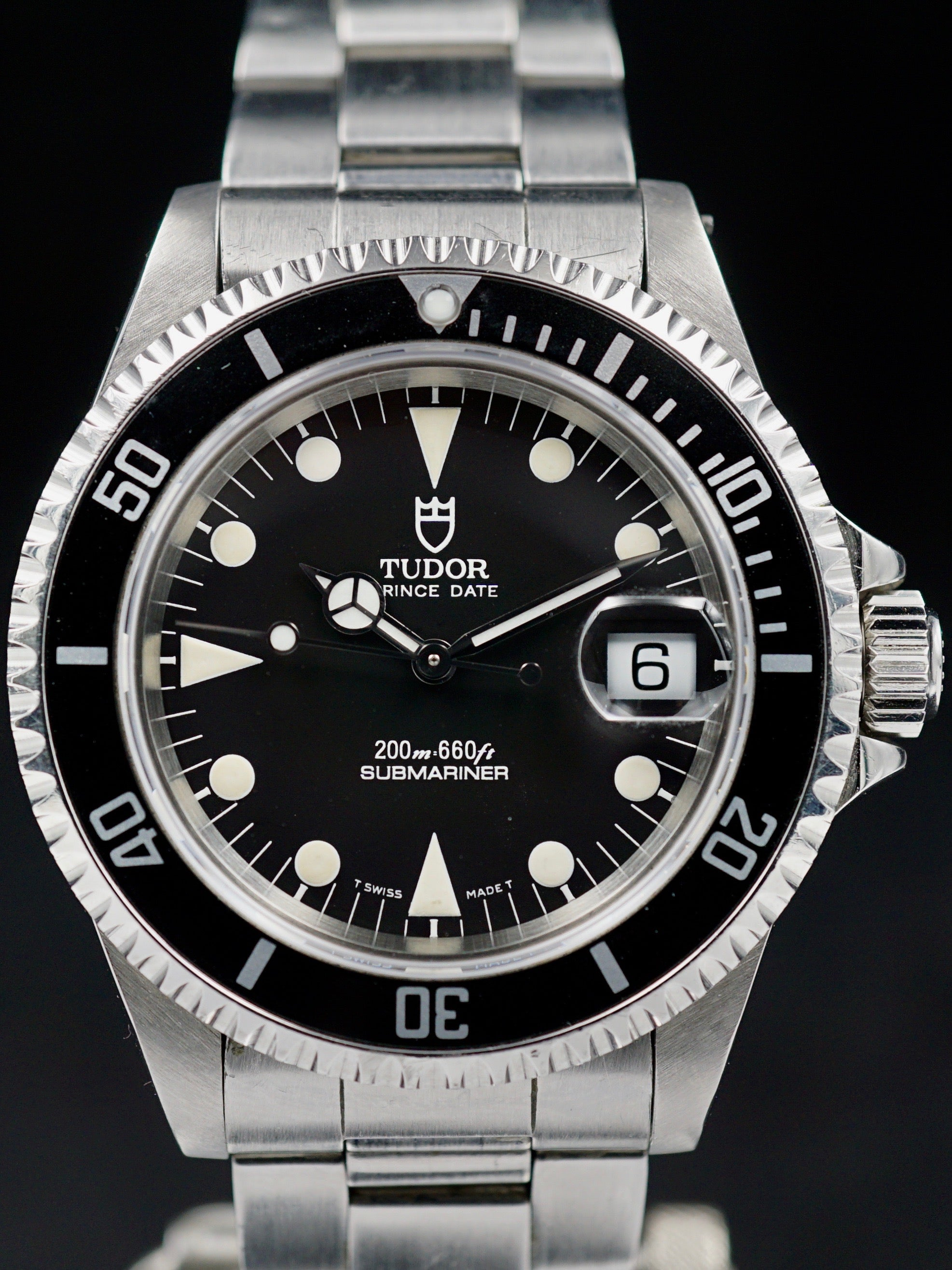 "1995  ""Matte Dial"" Tudor Submariner (Ref. 79190) W/ box and cards"
