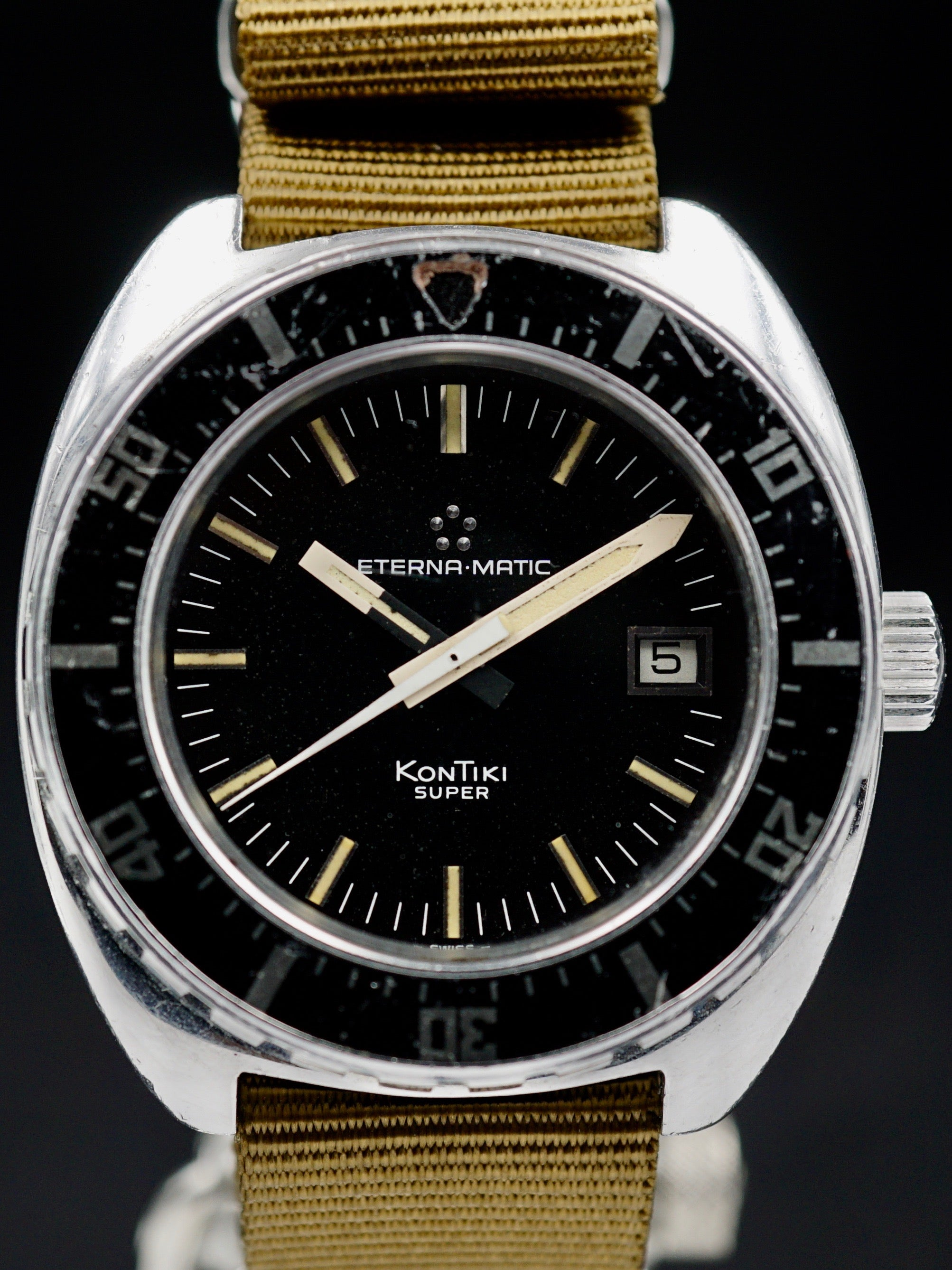1970's Eterna-Matic KonTiki SUPER ref. 633.1018.41