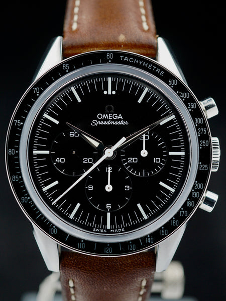 "2012 Omega Speedmaster ""First Omega In Space"" Reissue w/ Box and Booklets"