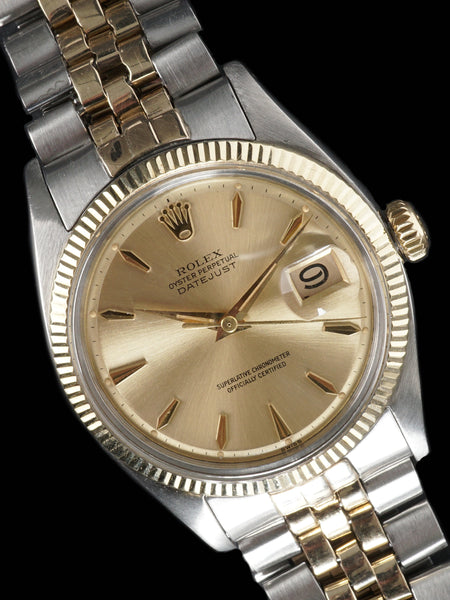 1960 Rolex Two-Tone Datejust (Ref. 1601)