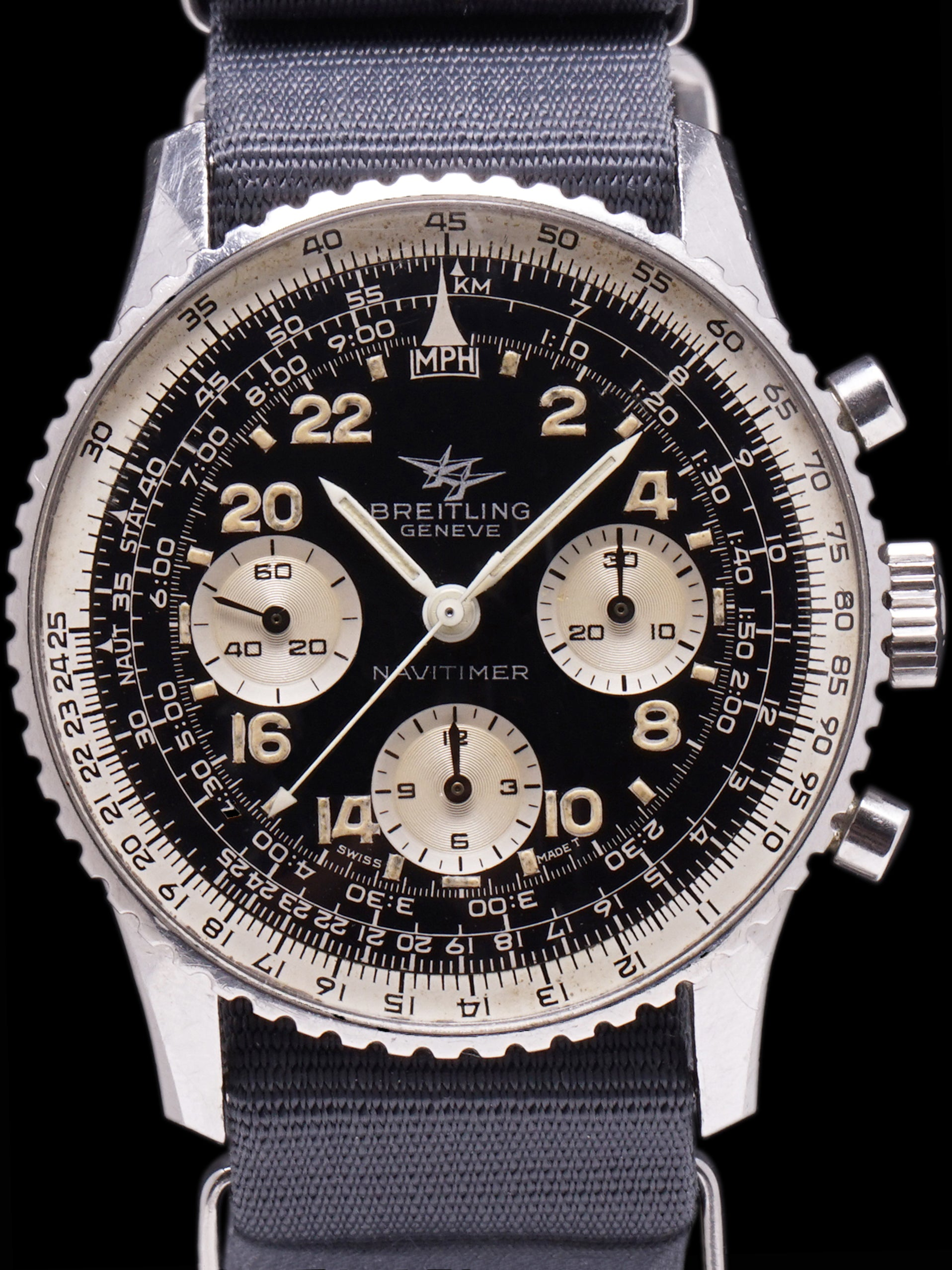 "1966 Breitling Cosmonaute Navitimer (Ref. 809) ""Twin Jets"""