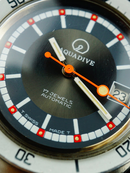 1970's AQUADIVE 20 Atm Dive Watch