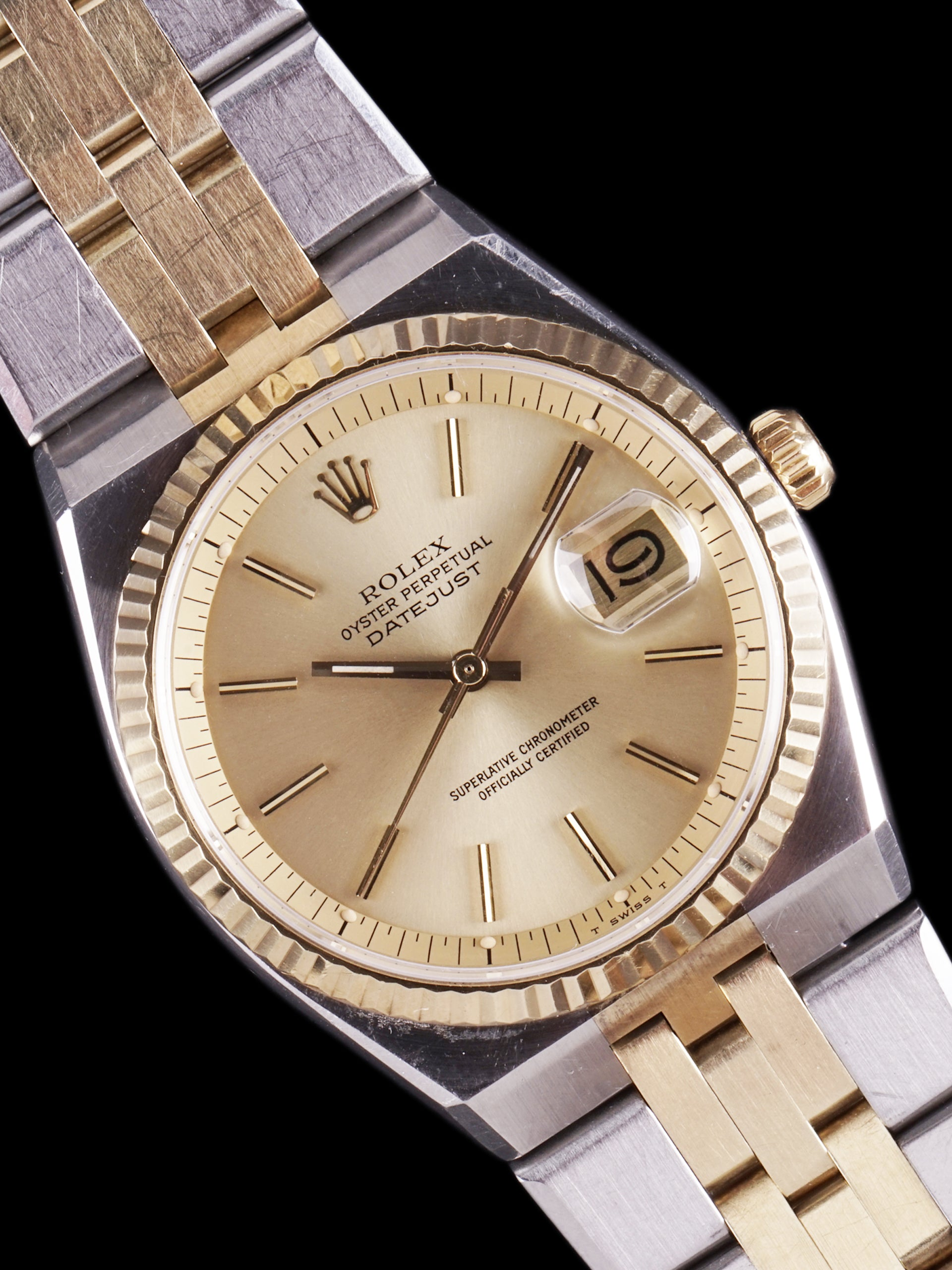 1978 Rolex Two-Tone Datejust (Ref. 1630)
