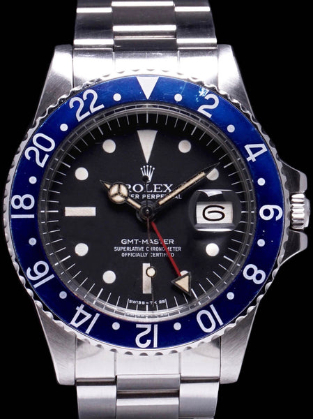 "1977 Rolex GMT-Master (Ref. 1675) Mk. III Radial Dial ""Blueberry"""
