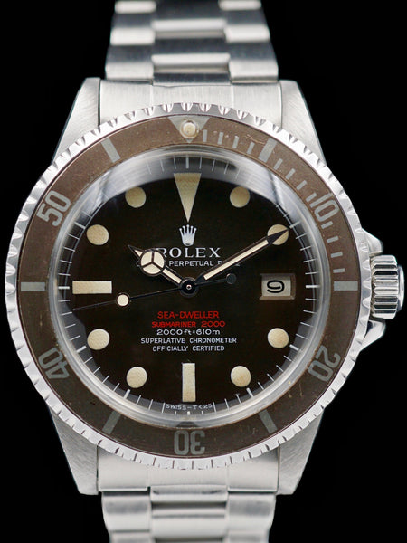 "1968 Tropical Rolex Double Red Sea-Dweller (Ref. 1665) ""Mk 2"""