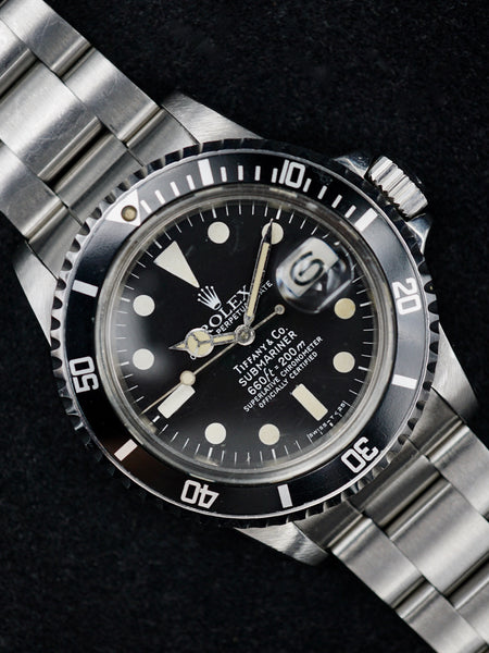 "1978 Rolex Submariner (Ref.1680) ""Tiffany & Co."""