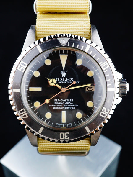 "1979 Rolex Sea-Dweller (Ref. 1665) MK I ""Great White"""