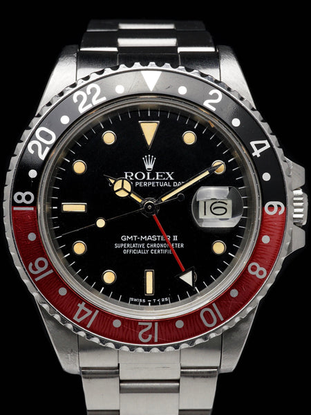 "**Unpolished** 1985 Rolex GMT-Master II (Ref. 16760) ""Fat Lady"""