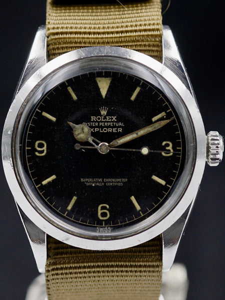 "1960 Rolex Explorer I (Ref. 1016) ""SWISS only"" Chapter Ring"