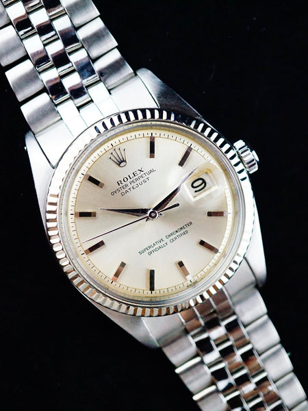 1962 Rolex Datejust (Ref. 1601) Silver Dial