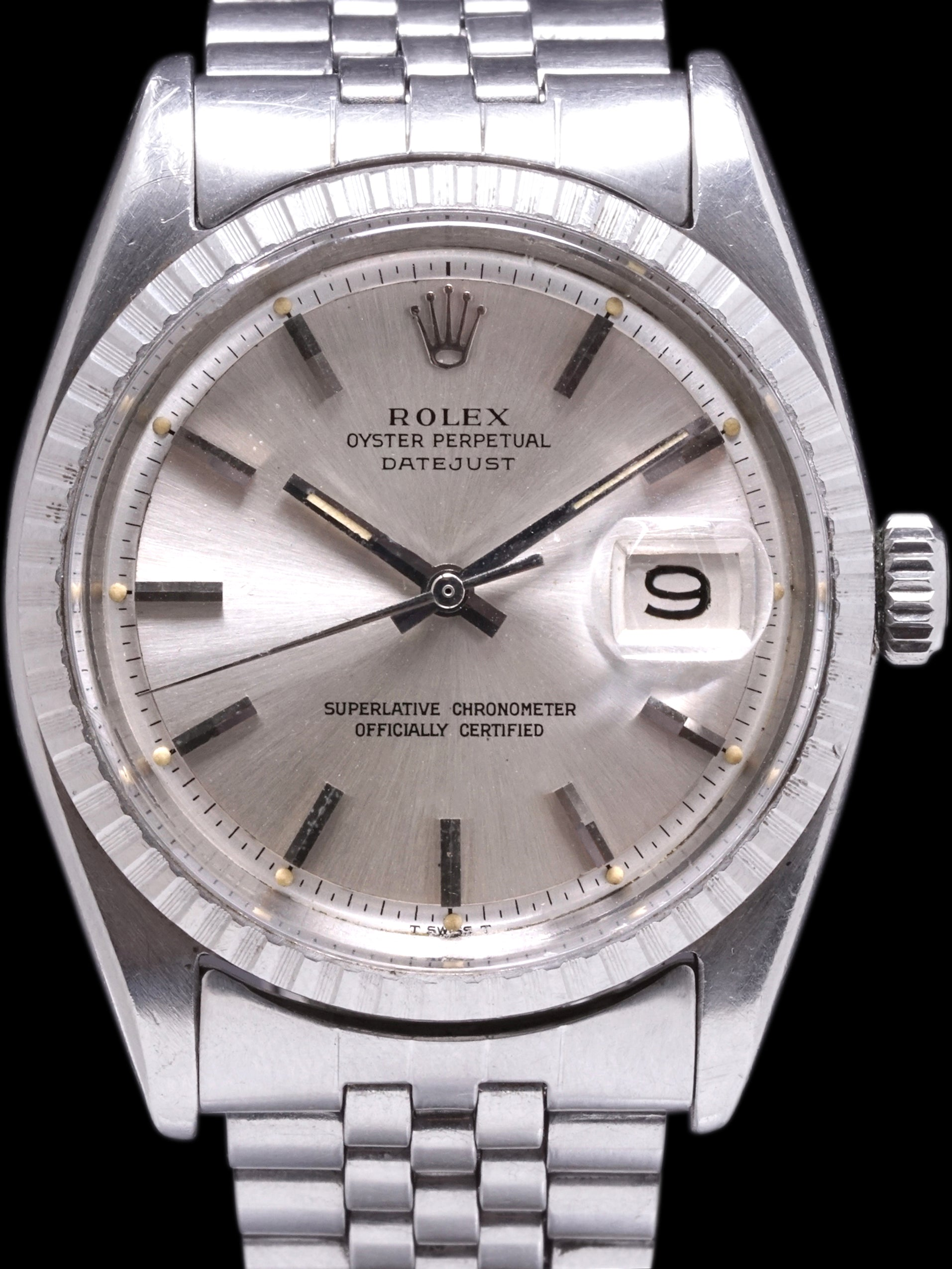 1966 Rolex Datejust (Ref. 1603) Silver Dial W/ Box & Papers
