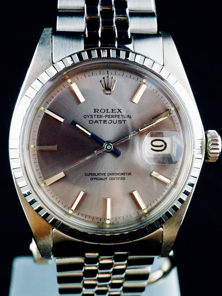 1969 Rolex Datejust 1603 Grey Dial