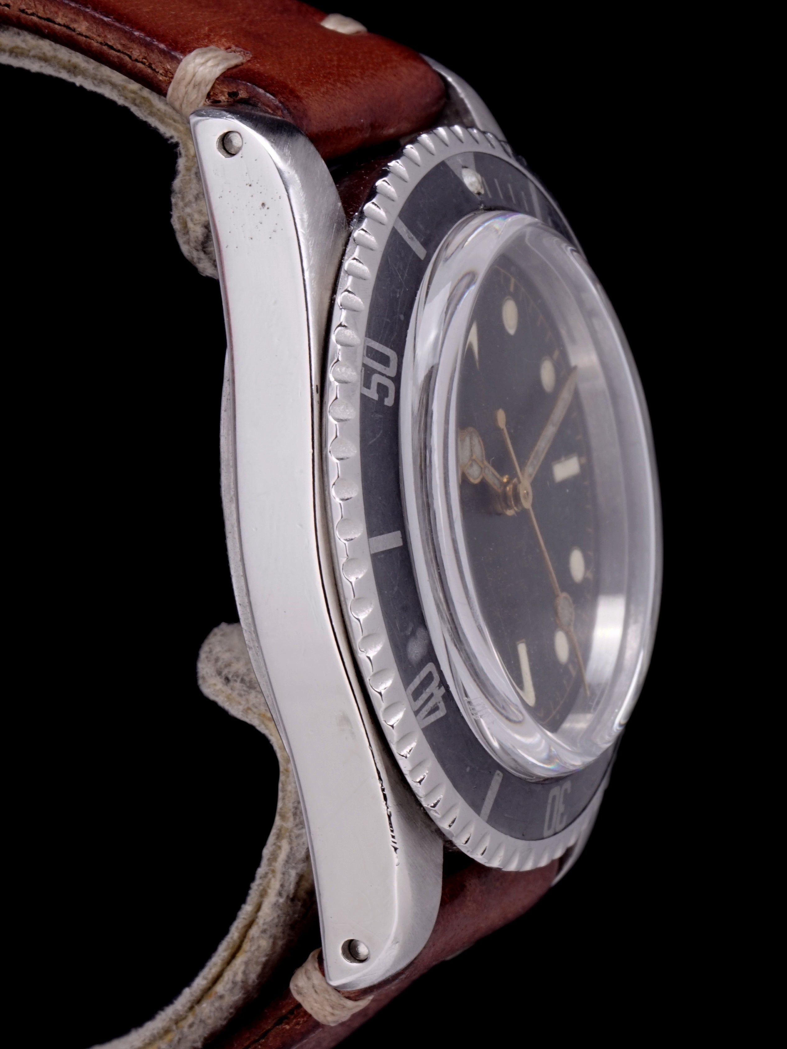 "U.S.N. 1963 Tudor Submariner (Ref. 7928) PCG ""Gilt Chapter Ring UNDERLINE Dial"""