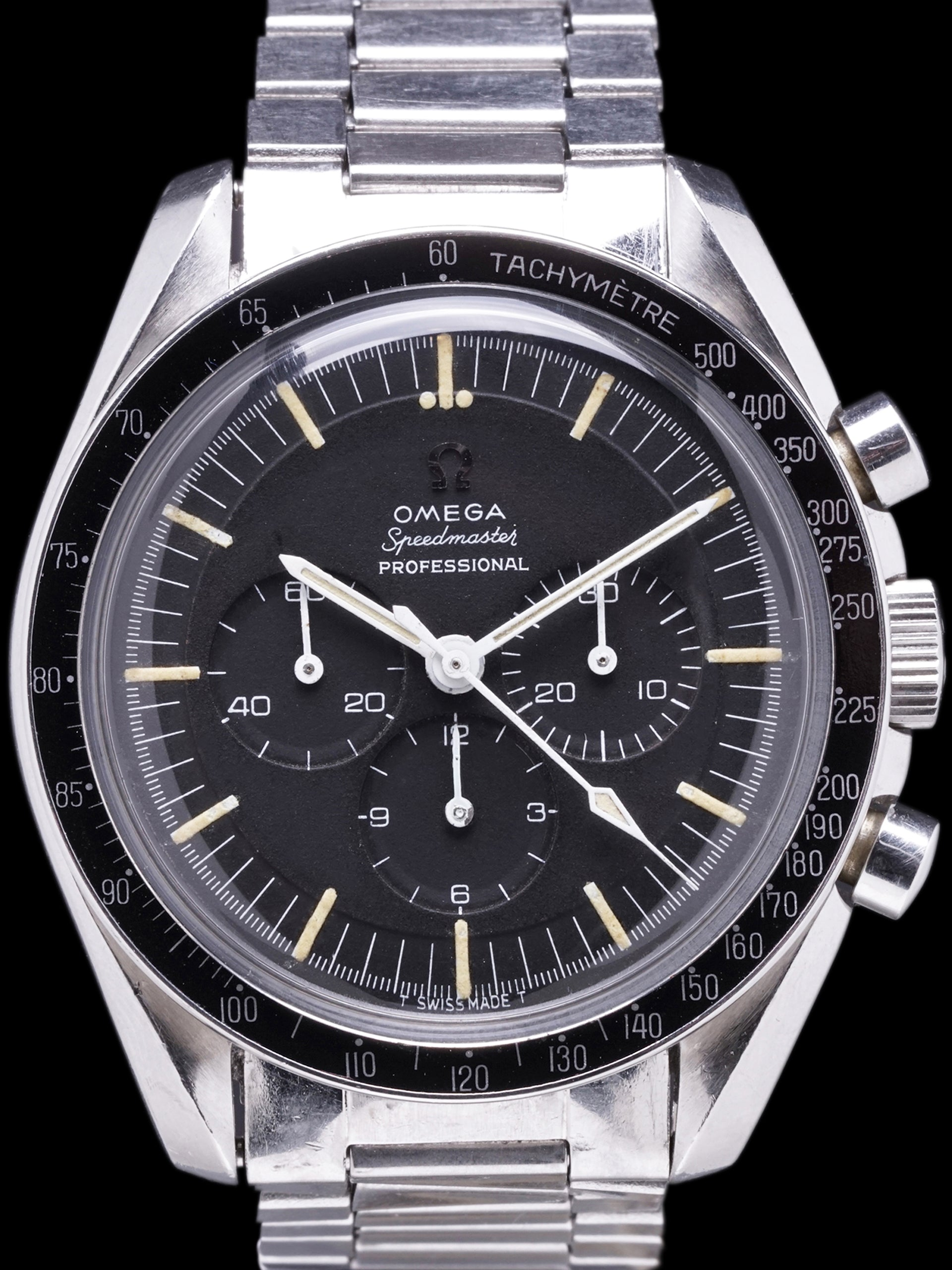 "1965 OMEGA Speedmaster Professional (Ref. 105.012) CAL. 321 ""Pre-Moon"" W/ Smooth Sub-Dials"