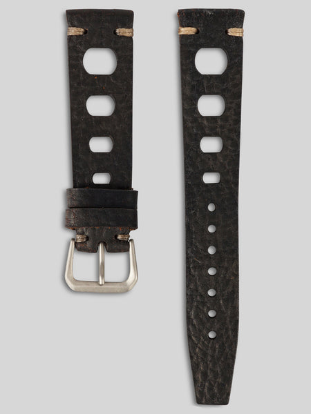 Leather Tropic Strap - Black