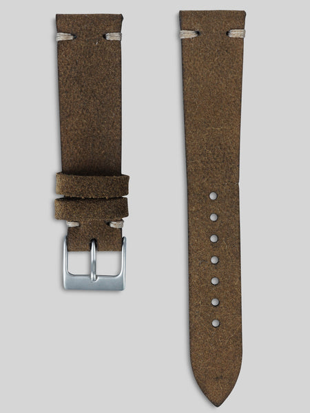 Rough Out Leather Watch Strap