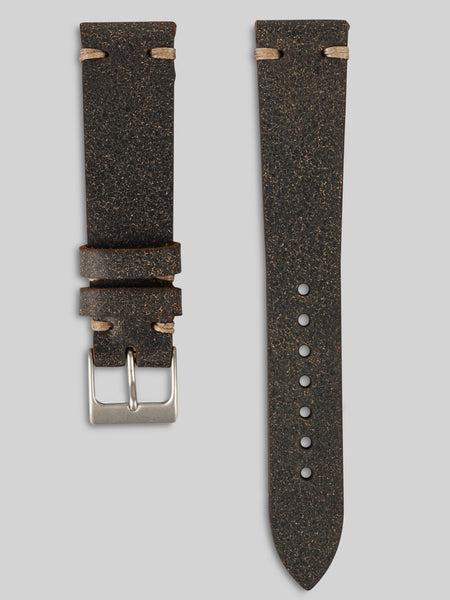 Bomber Leather Watch Strap
