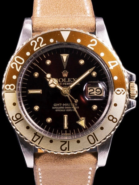 "1978 Rolex Two Tone GMT-Master (Ref. 1675) ""Rootbeer"""
