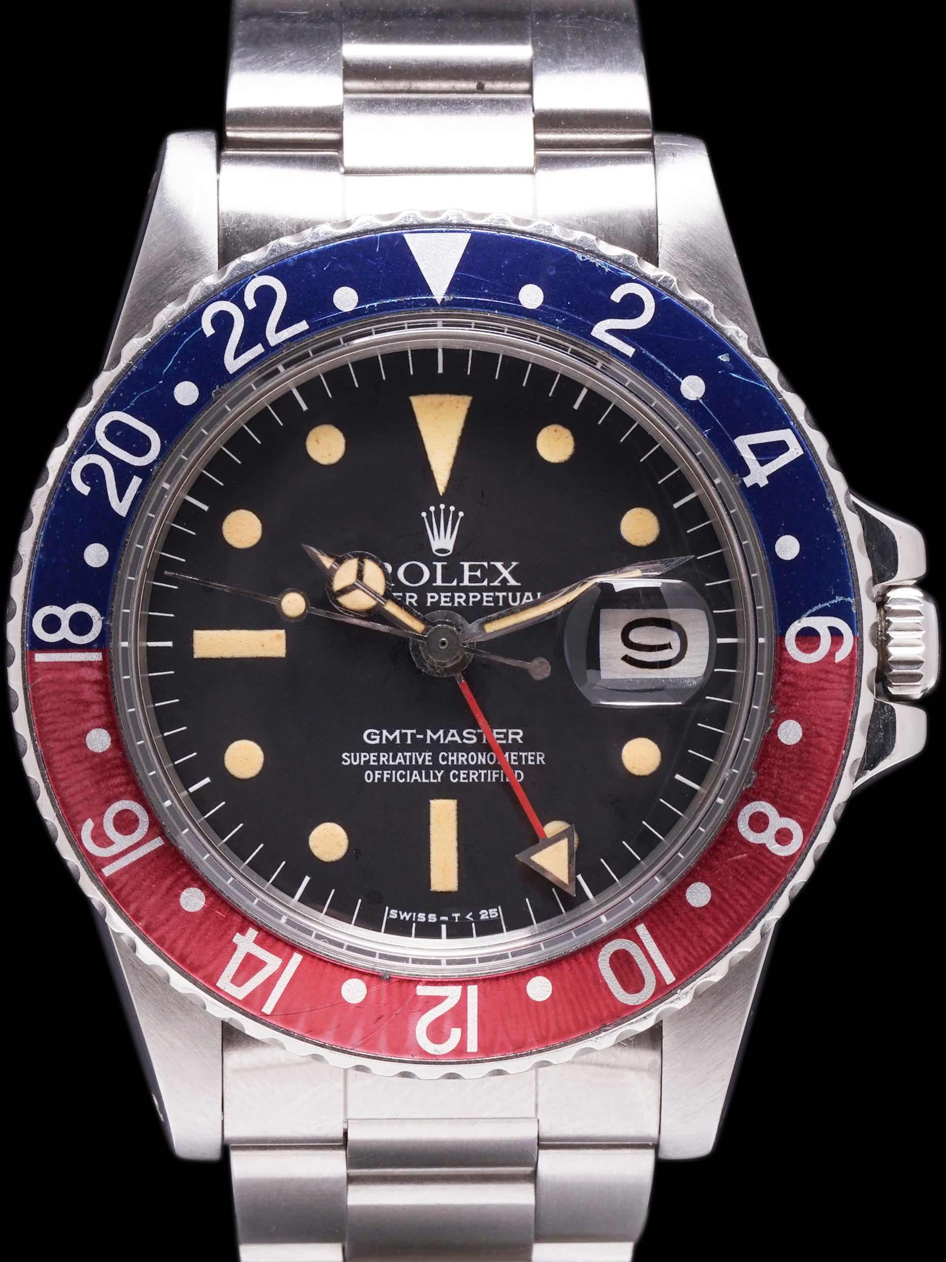 "1978 Rolex GMT-Master (Ref. 1675) Mk. III ""Radial Dial"""