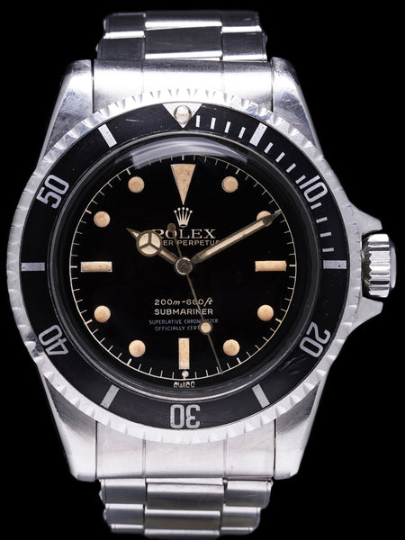 ***Unpolished*** 1962 Rolex Submariner (Ref. 5512) Gilt Chapter Ring Exclamation Dial W/ PCG