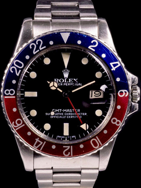 1979 Rolex GMT-Master (Ref. 16750) Matte Dial with Box and Papers