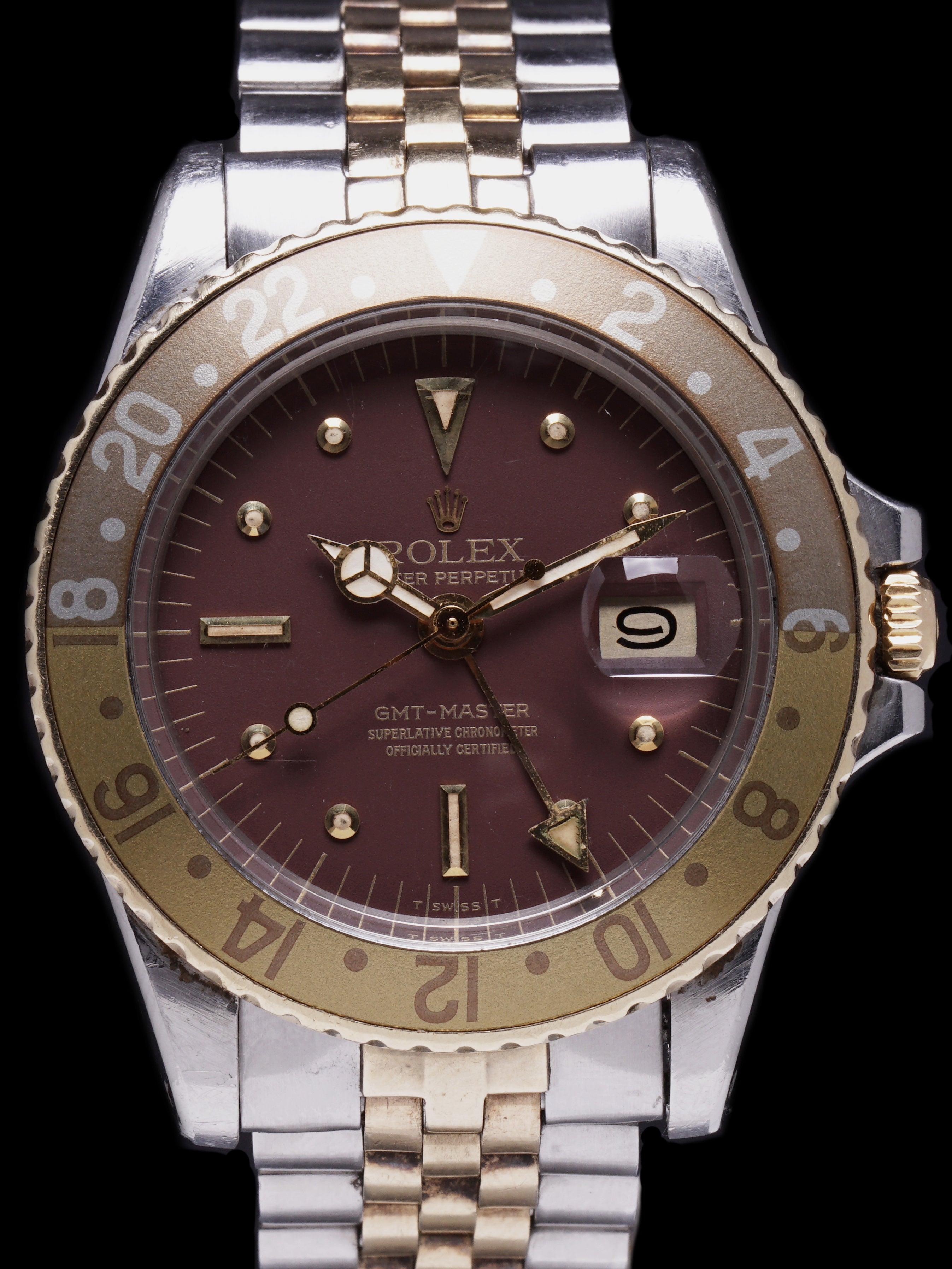 "1972 Rolex Two Tone GMT Ref. 1675 ""Rootbeer"""