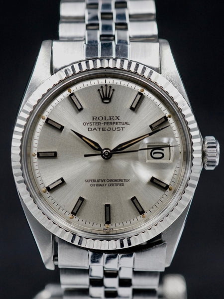 1963 Rolex Datejust (Ref. 1601) Silver 'Swiss Only' Dial