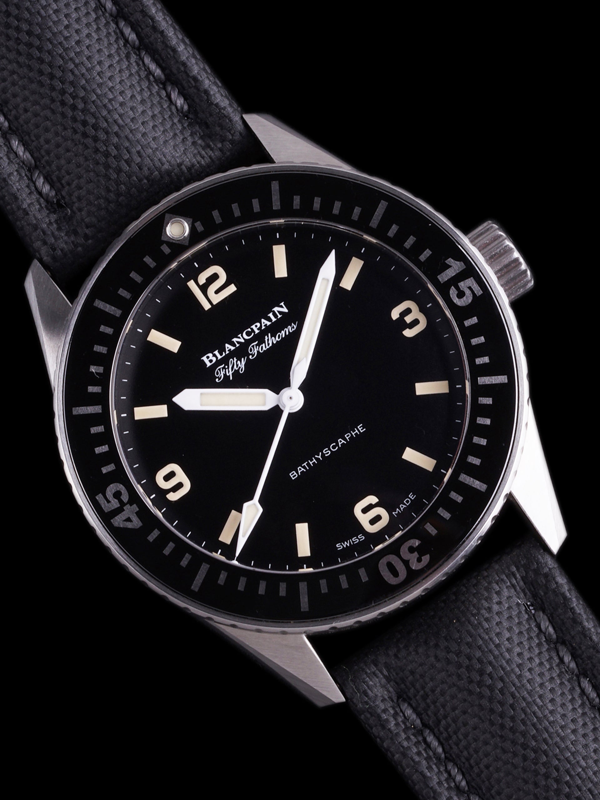 2019 Blancpain Fifty-Fathoms Bathyscaphe Hodinkee Limited Edition