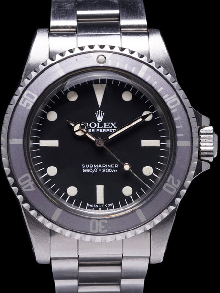 *** Unpolished*** 1984 Rolex Submariner (Ref. 5513) MK V MAXI Dial