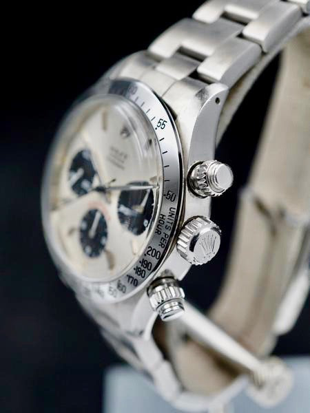 1979 Rolex Daytona 6265 Silver Big Red Daytona Dial