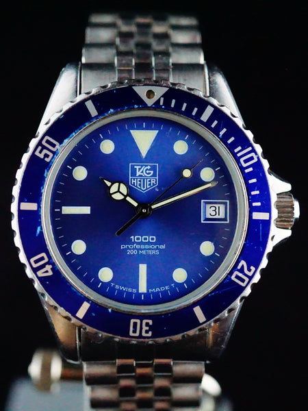TAG Heuer 1000 Professional Diver Blue Dial (Ref 980.613N)