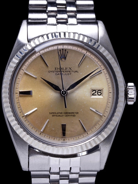 "1963 Rolex Datejust (Ref. 1601) No lume ""Tropical"" Dial"