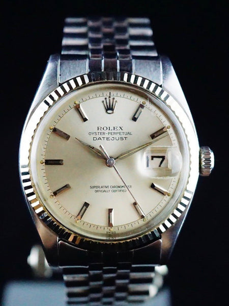 1962 Rolex Datejust (Ref. 1601) Silver Swiss Only Dial