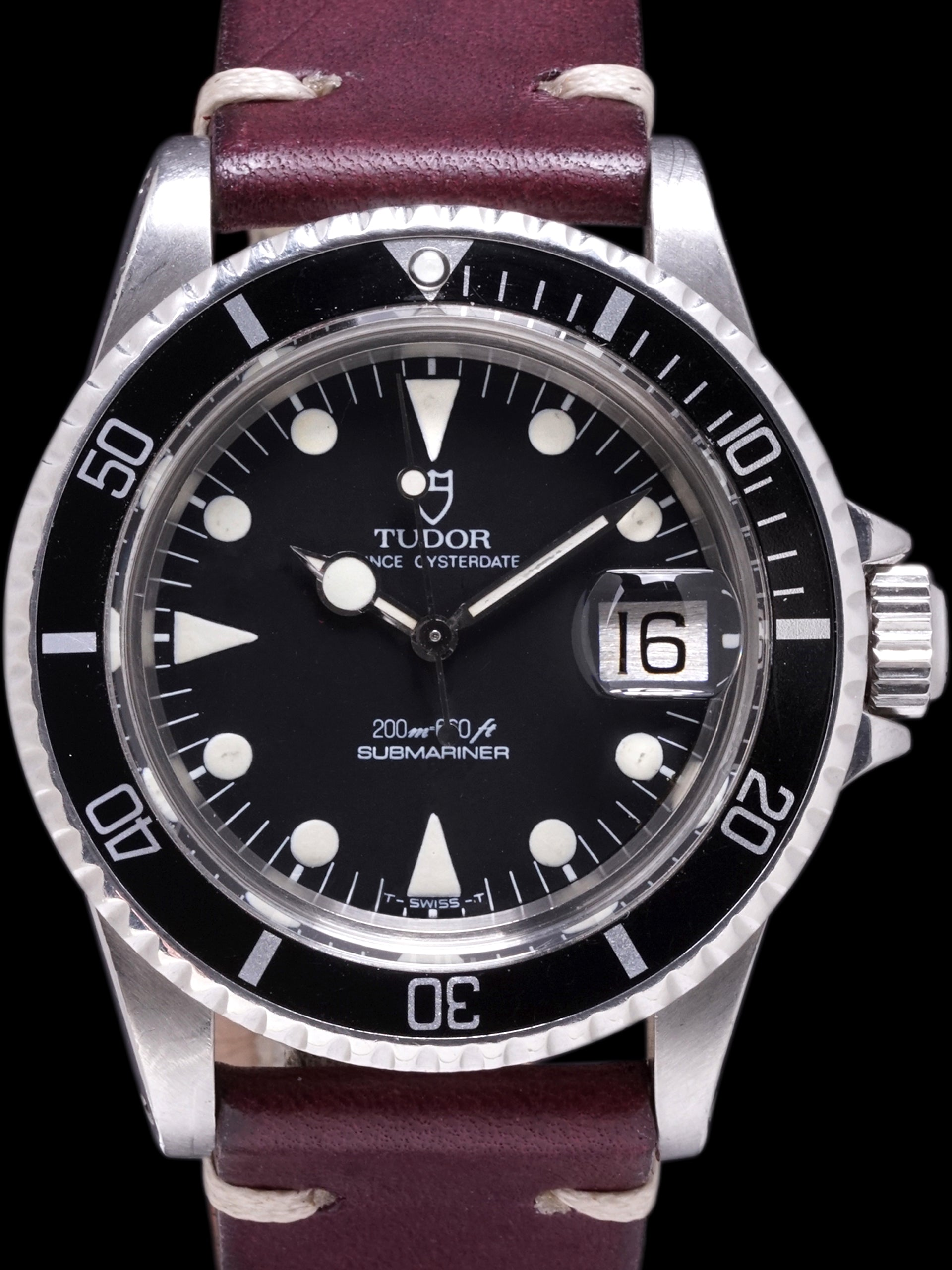 "1985 Tudor Submariner (Ref. 76100) ""Lollipop Hour Hand"""