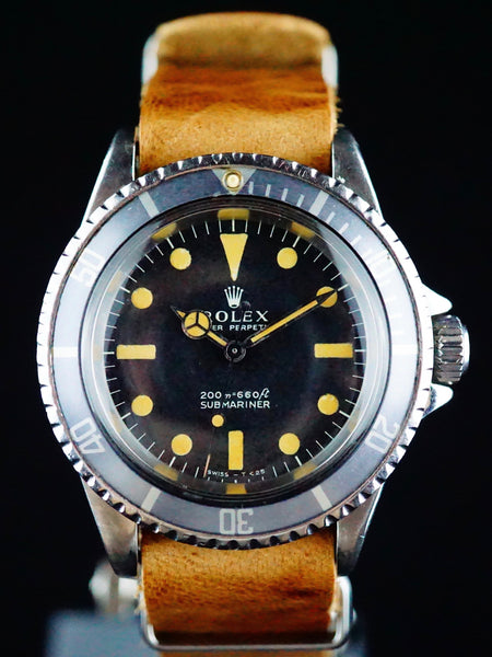 "1968 Rolex Submariner (Ref. 5513) Meters First ""Pumpkin"""