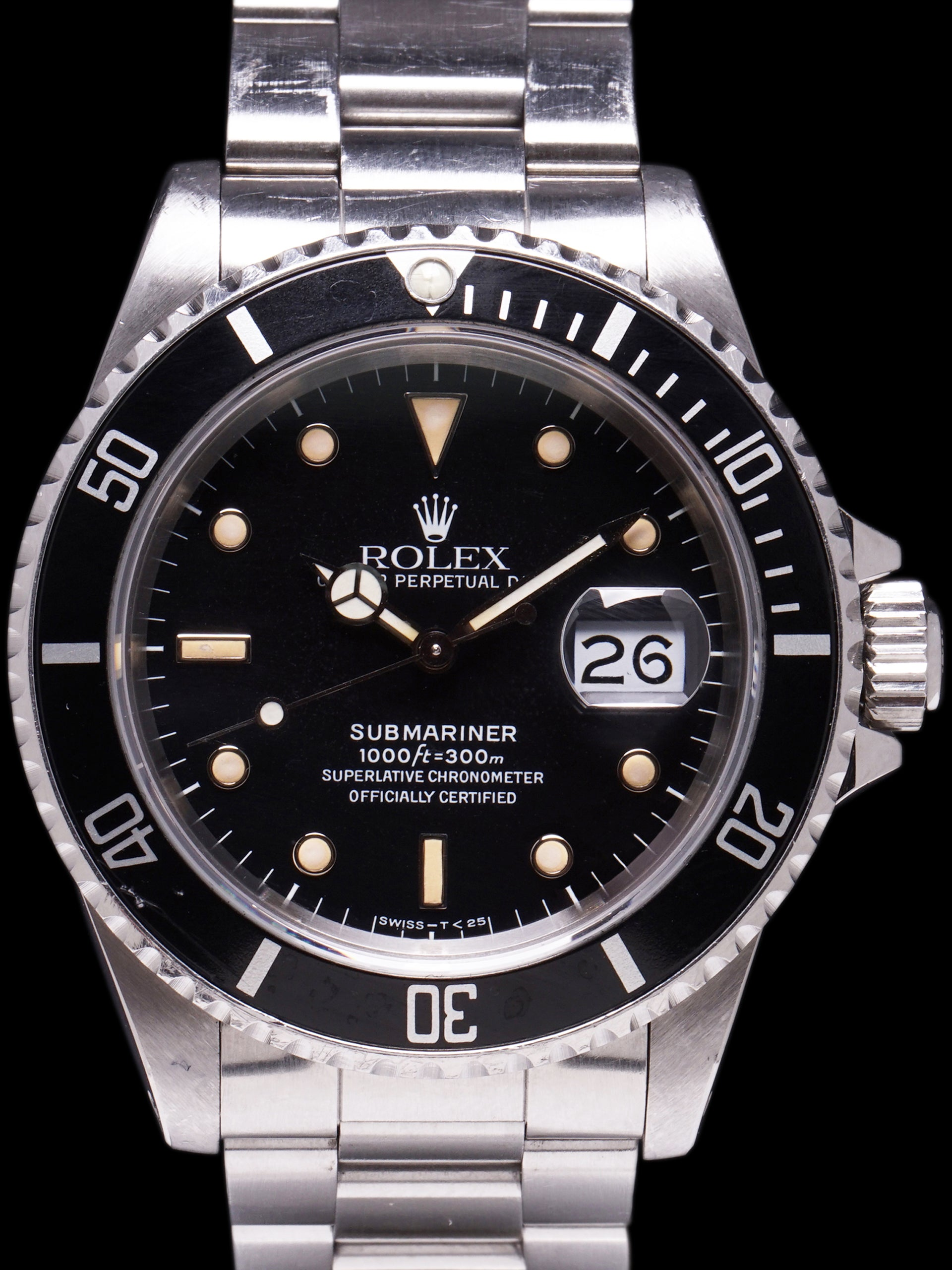 1989 Rolex Submariner (Ref. 16610) W/ Papers and Hangtags