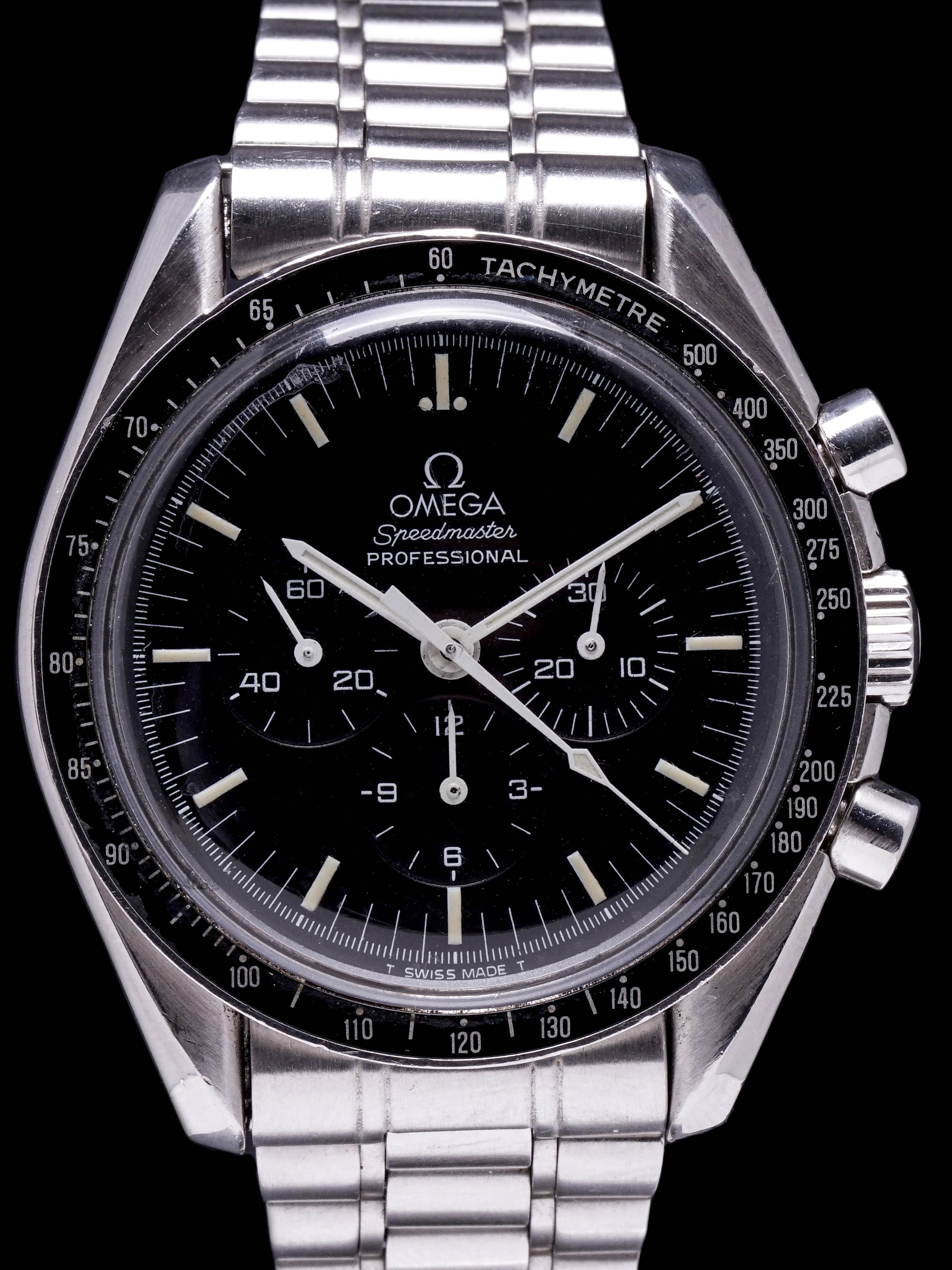 **Unpolished** 1985 OMEGA Speedmaster Professional (Ref. 145.022)