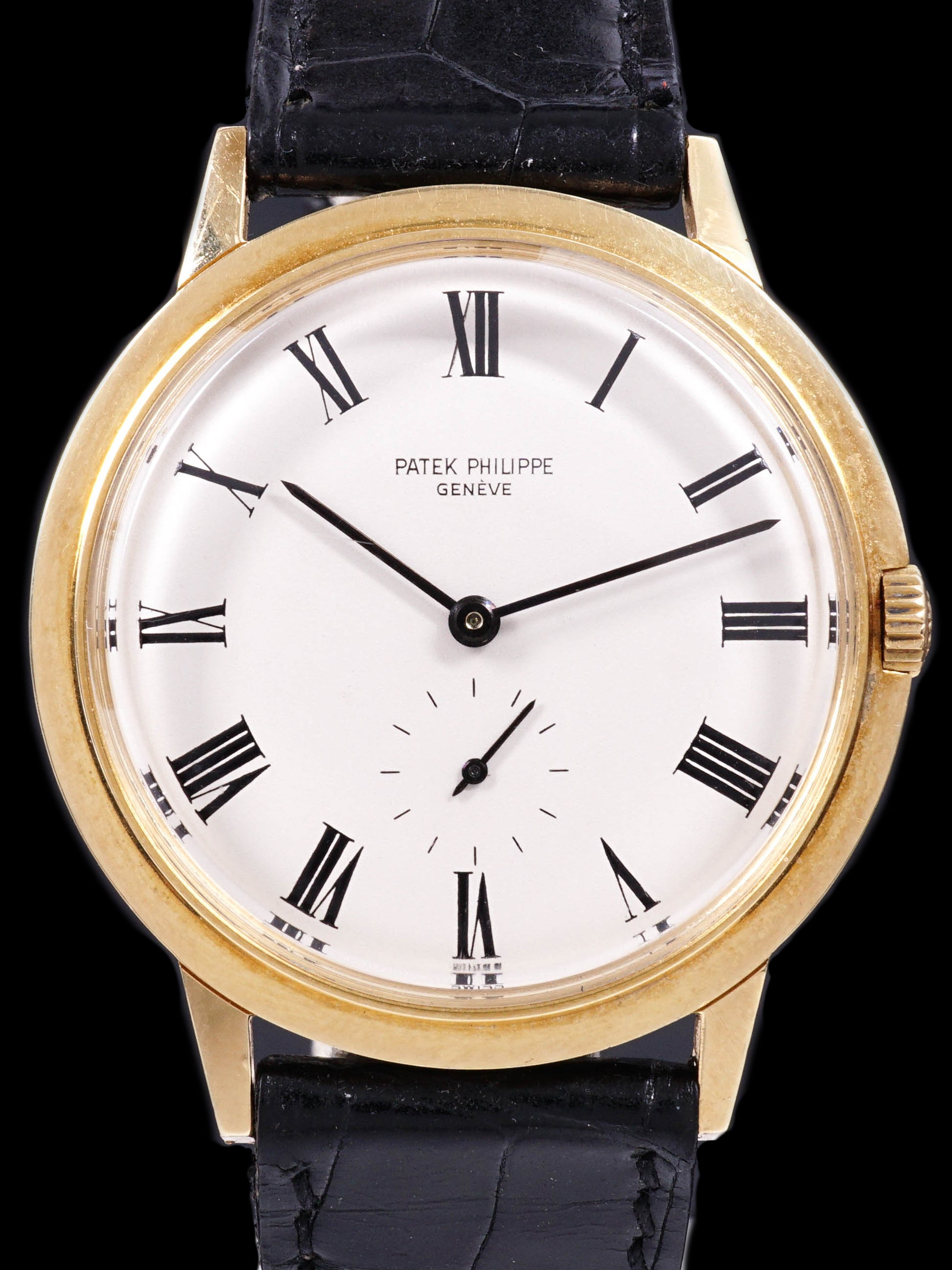 1967 Patek Philippe Ref. 3542 18k Yellow Gold w/ Box & Original Papers