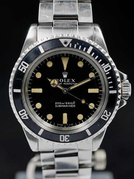 1970 Rolex Submariner (Ref. 5513) Meters First