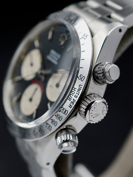 1979 Rolex Daytona 6265 Black Big Red Daytona Dial